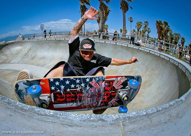 Steve Primo 5 27 12 Skateboard Skate Park Venice Beach