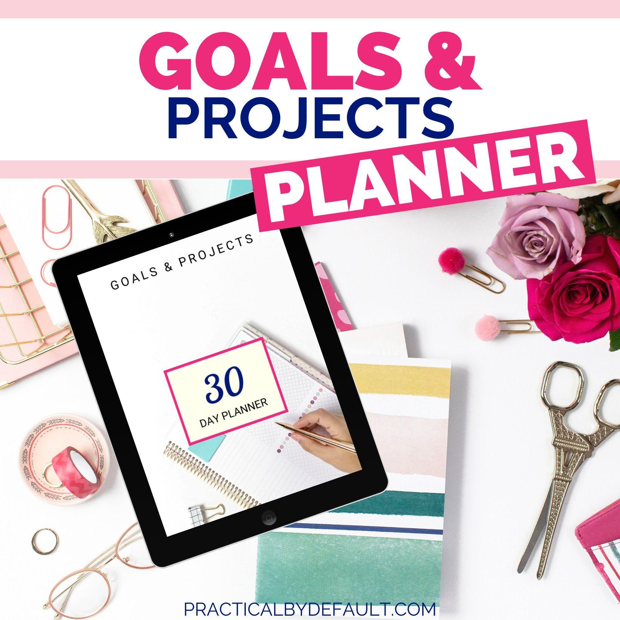 Goal Planner Goal Tracker Goals Goal Setting Goal