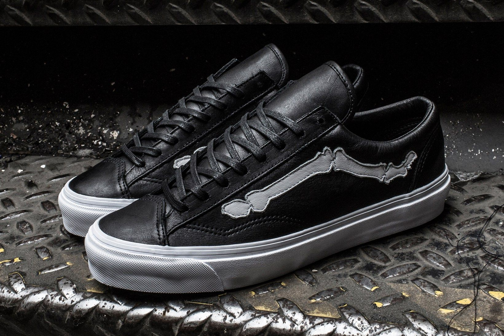 b0dadfa25ff6 For its seventh installment of the Blends x Vault by Vans Bone Jazz-Stripe  series