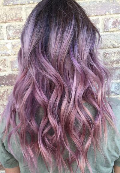 32 Hottest Brown Ombre Hair Ideas Purple Hair Violet