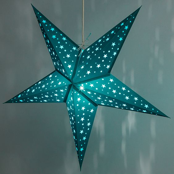 Starry green paper star lights astronomy pinterest ceiling starry green paper star lights aloadofball Gallery