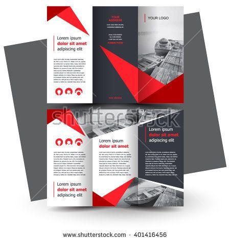 Brochure Design Brochure Template Creative Trifold Trend - Brochure templates tri fold