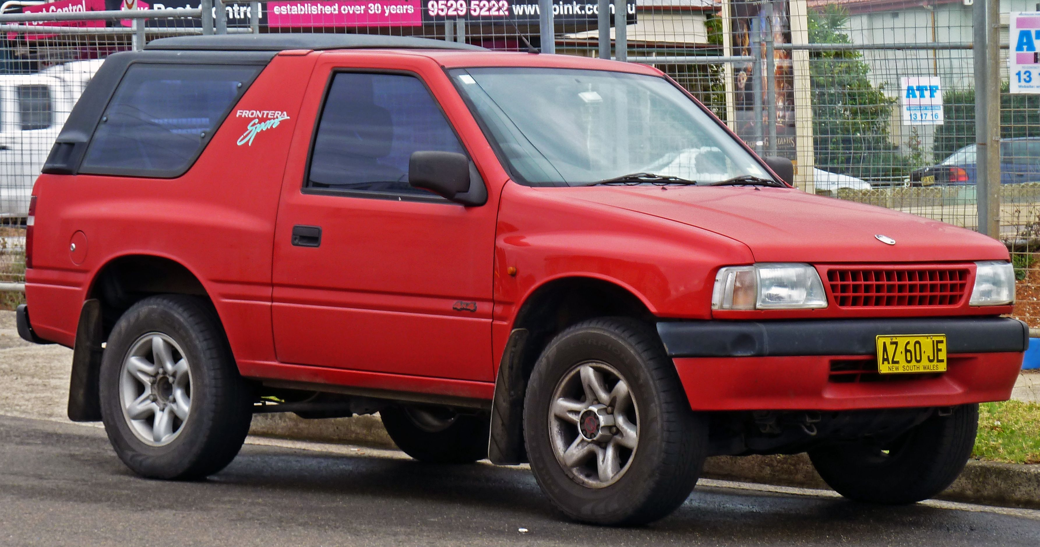 Holden Frontera