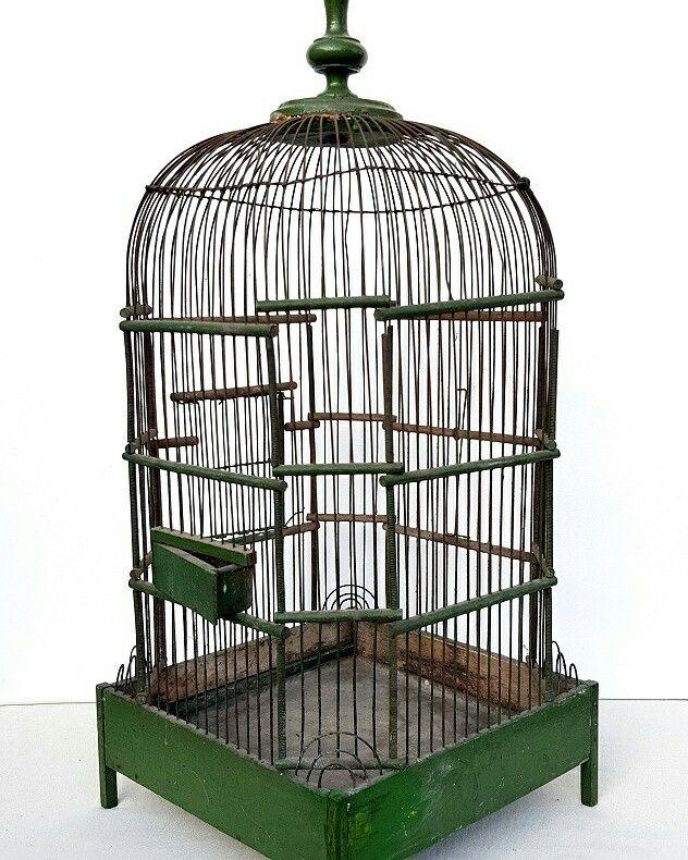 a vendre belle cage oiseaux ancienne curiosit s. Black Bedroom Furniture Sets. Home Design Ideas