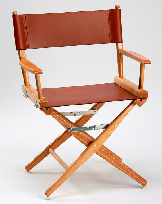 Table Height Telescope Brand Directors Chairs Made With Ludwig