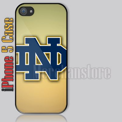pretty nice 0ad01 8db9d Notre Dame Fighting Irish Logo iPhone 5 Case Cover | iPhone 5 case ...