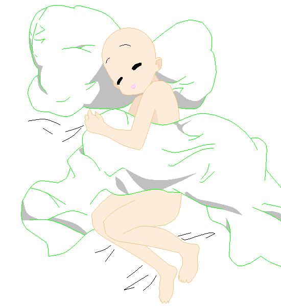 Sleep Base Drawing Base Anime Character Design Art Reference Poses