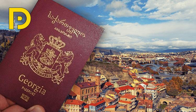 جورجيا أسهل دولة للحصول على الإقامة برو ديفيلوبرز Georgia Book Cover Country