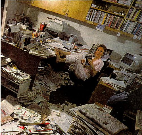 Messy Office: Brrrring!! Where Is My Phone