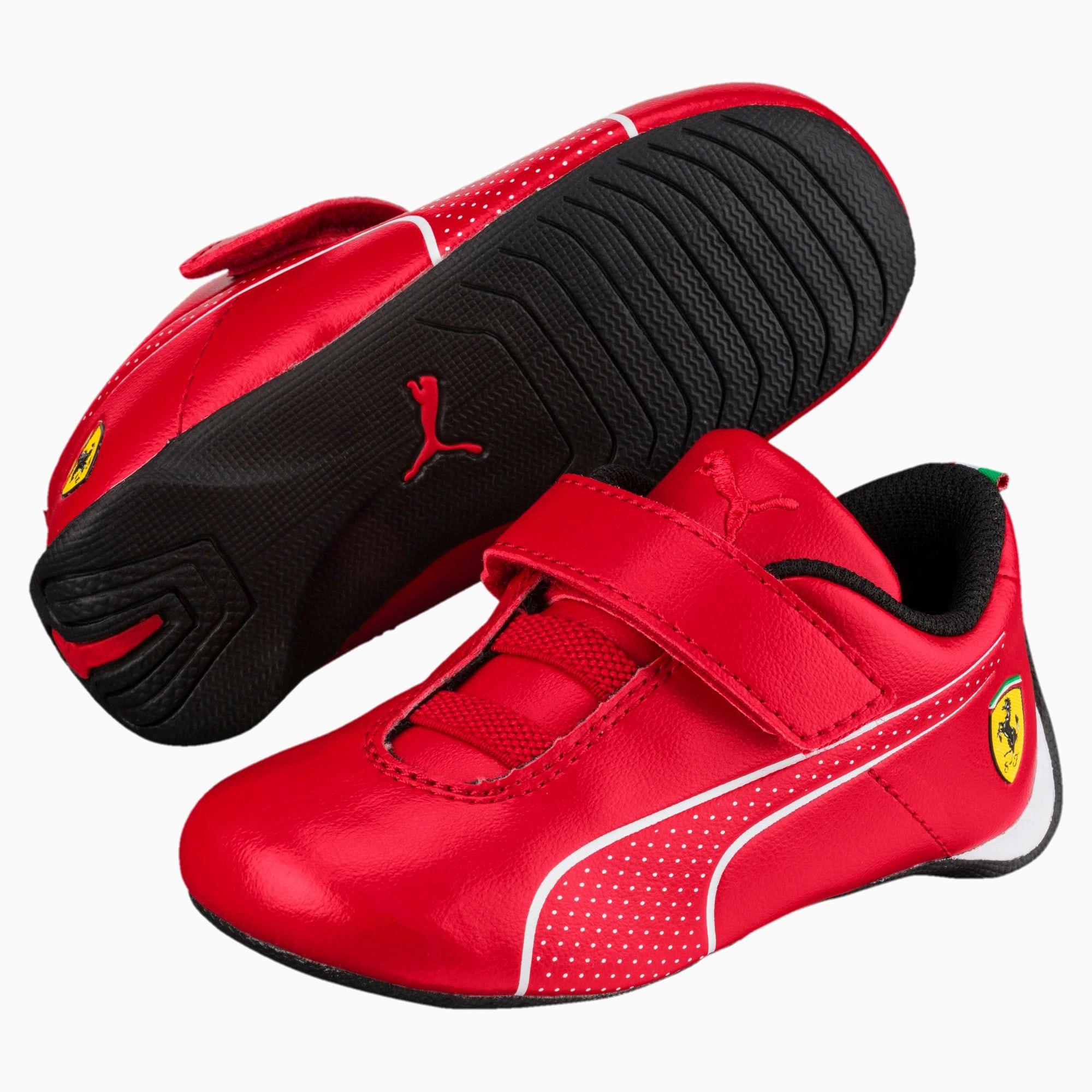 PUMA SF Future Cat Ultra V Preschool Shoe Sneakers, Red, size 13, Shoes