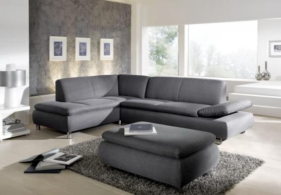 Sofa Mit Hocker Sofa Sitzen Und Hocker