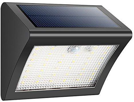 Plafoniera Led Da Esterno Con Sensore Di Movimento : Luce solare 38 led lampada solari esterna energia con sensore