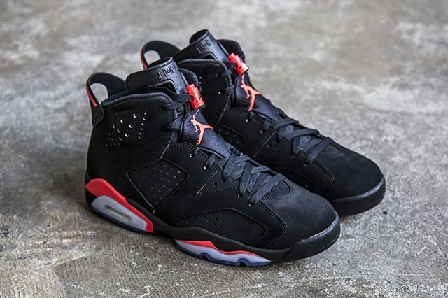 low priced 7a6ad 7d2d2 AIR JORDAN 6 (BLACK INFRARED)   Sneaker Freaker   Kicks ...