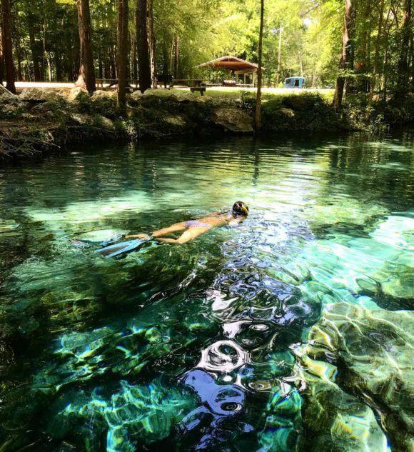 Santa Fe River Paddling Trail in Lake City, FL  VISIT