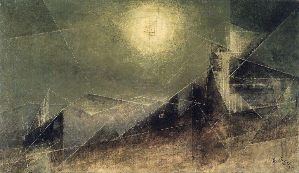 https://flic.kr/p/5WfWC9 | Feininger, Lyonel (1871-1956)  - 1951 Lunar Web