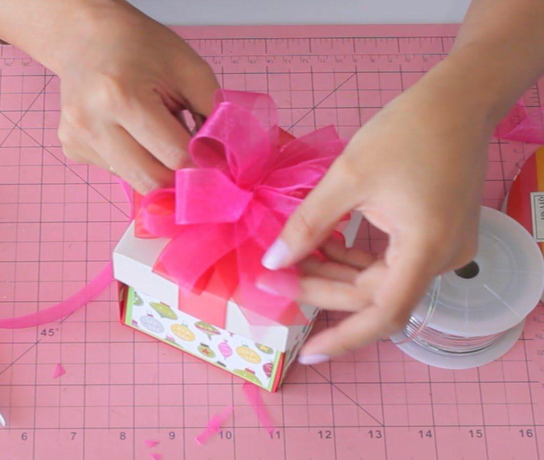 Como hacer mo os en cintas de tela regalos pinterest - Cinta para regalo ...