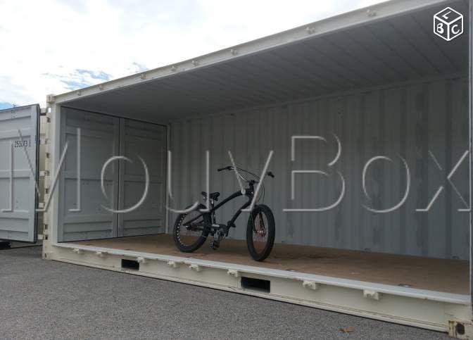 """Rare, container 6m """"open-side"""" pour le Limousin"""