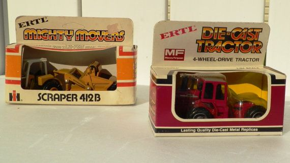 Toy Tractors Vintage ERTL Die Cast  Mighty Mover by RenewedFinds, $34.99