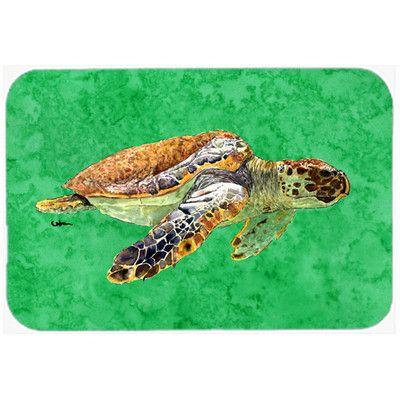 Found it at Wayfair - Turtle Kitchen/Bath Mat