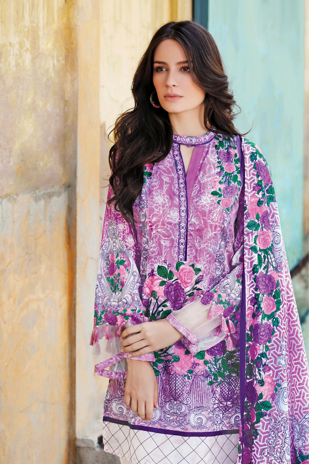Gul Ahmed Latest Lawn Dresses 2017 38 Pk Vogue