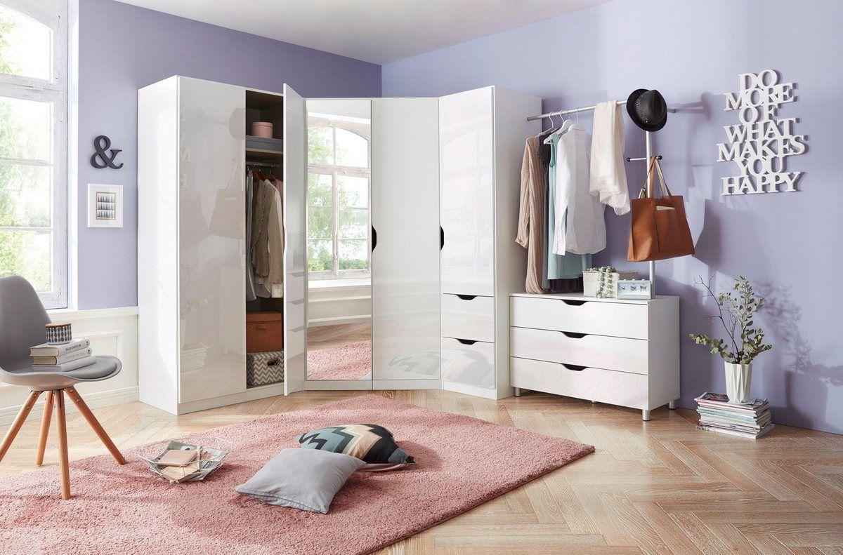 Schlafzimmer Eckschrank Set