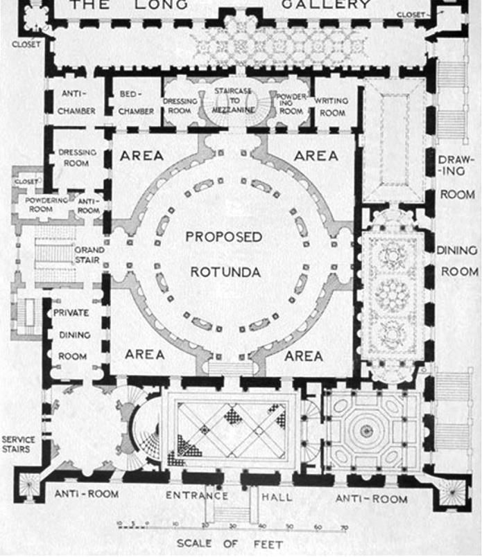 Syon House Plan 695804