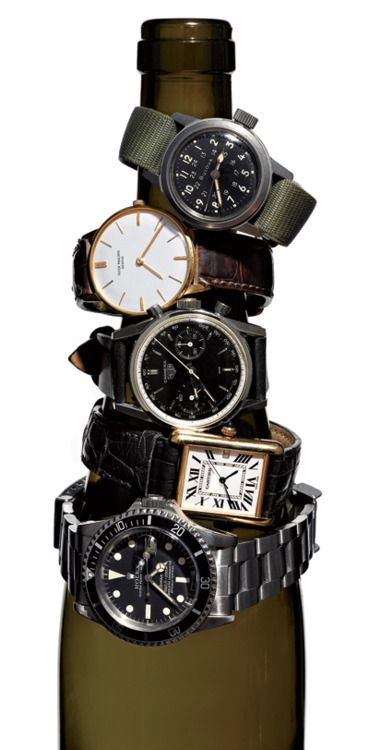 gqfashion: How to Buy a Vintage Watch  Jump the vintage game. Don't get gamed.