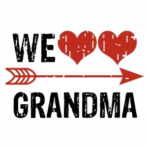 Download We love Grandma logo svg | Vector logo, Vector design, Svg