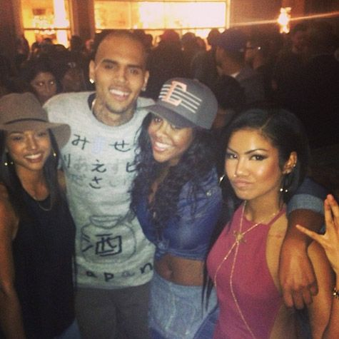 Chris Brown, Karrueche Tran, & Keri Hilson Attend Jhené Aiko's EP Release Party- http://getmybuzzup.com/wp-content/uploads/2013/11/216676-thumb.jpg- http://getmybuzzup.com/chris-brown-karrueche-tran-keri-hilson-attend-jhen-aikos-ep-release-party/- By Rap-Up  With her EP Sail Out headed for a top 10 debut, Jhené Aiko returned home to celebrate the release with her family and friends at Space 15 Twenty in Hollywood last night. The L.A. songstress, who is curre
