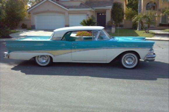 1958 Ford Fairlane 500 For Sale Desertclassics 1958 Ford