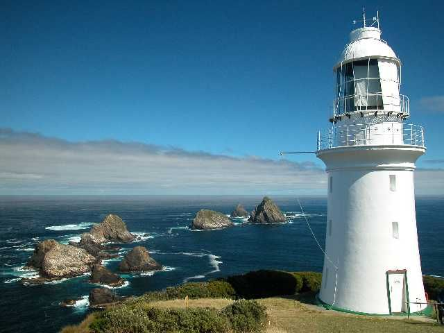 """The Maatsuyker Islands in Tasmania, Australia is a unique location for being an """"island within an island within an island"""". It is noted for its rich marine wildlife, predominantly wet and windy weather conditions, and Australia's most southerly lighthouse."""