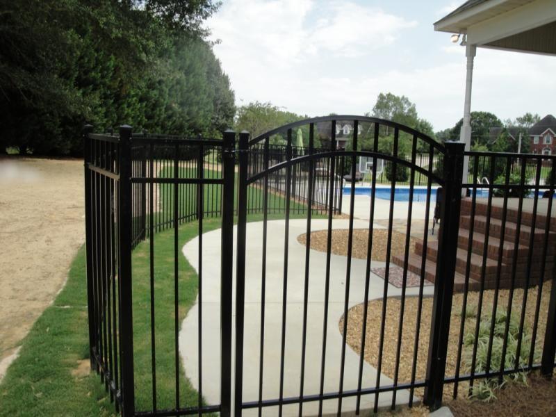 Alabama Fence Play Aluminum And Iron Fence Iron Fence Fence Aluminum