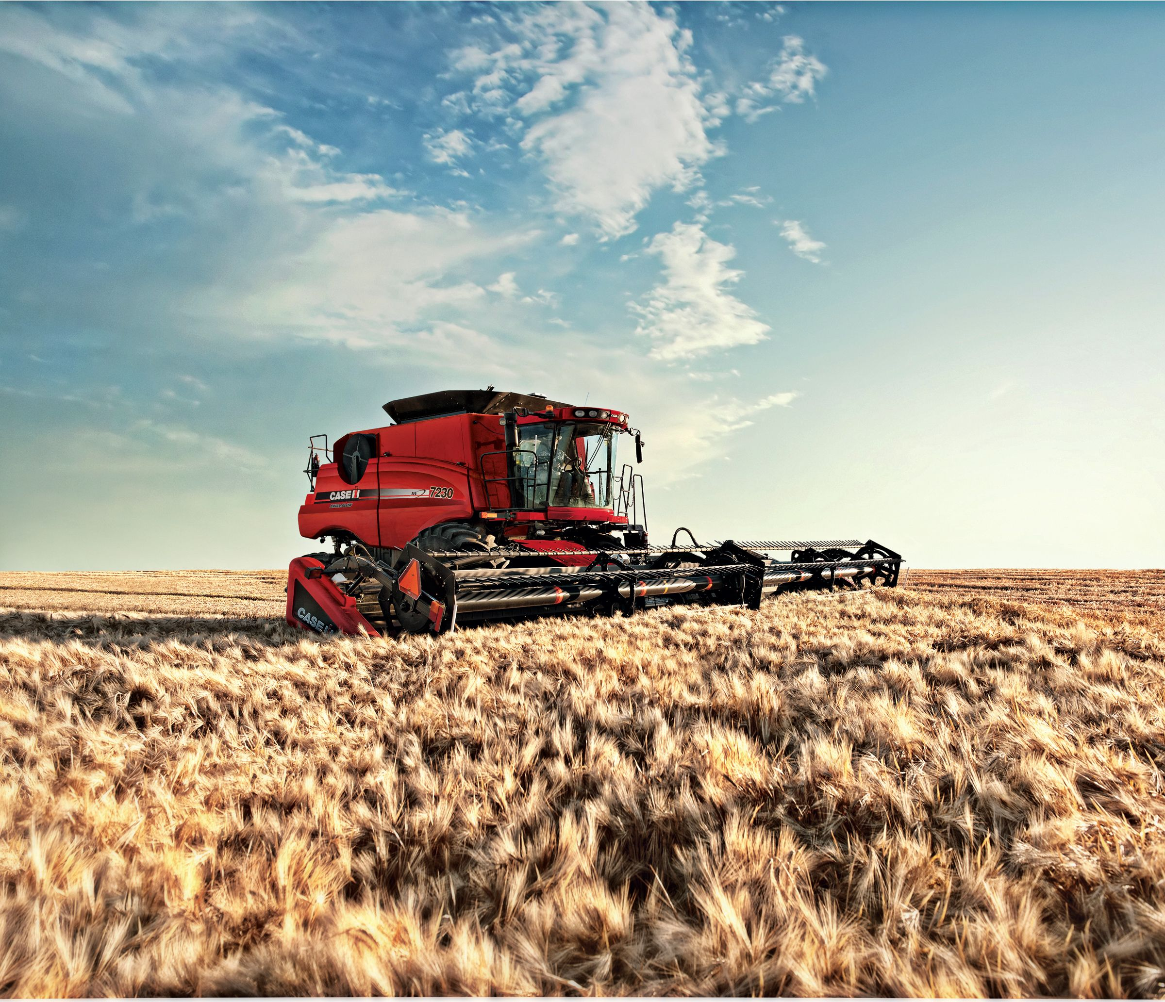 Case International Harvester : Case ih combines new combine harvesters