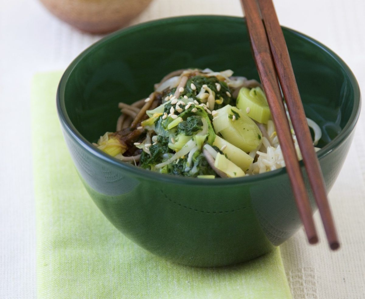 Toshikoshi Year-End Soba Noodles - Cook For Your Life- anti-cancer recipes