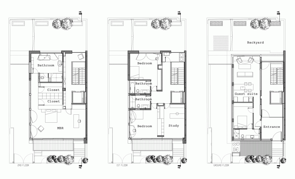 Urban Townhouse Floor Plans: Gallery Of Tel Aviv Townhouse / Pitsou Kedem Architects