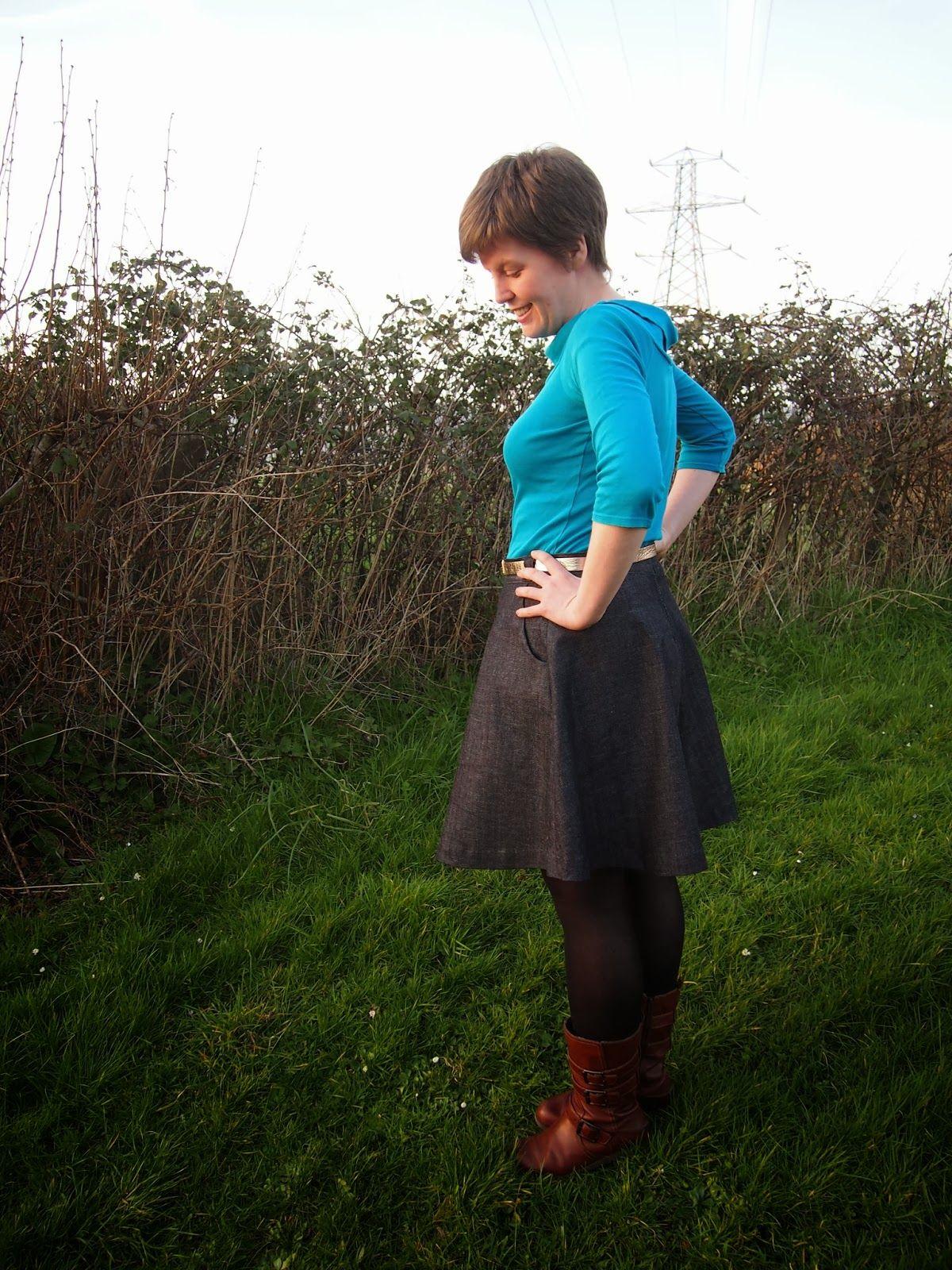 Nightingale & Dolittle: Simple Denim - great beginner sewing pattern ...