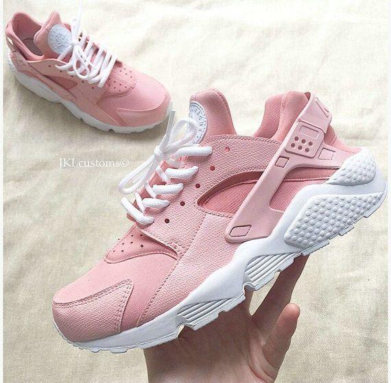 air max huarache rosa