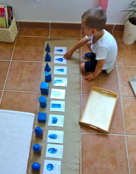 Figuras Geometricas Ensenar Montessori Matematicas Preescolar Y