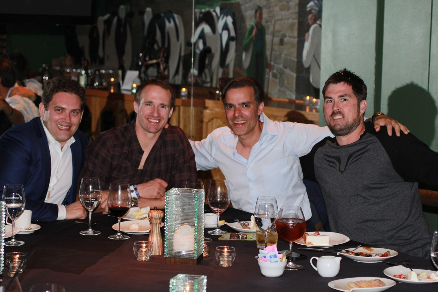 Marcus Luttrell, Drew Brees, Donnie Edwards | Parties ...