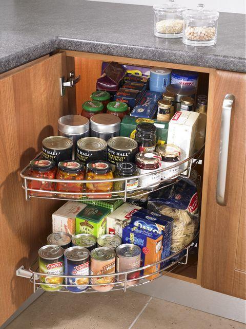 Simply Wood 1 2 Corner Carousel Set Corner Kitchen Cabinet Kitchen Cabinet Storage Buy Kitchen Cabinets