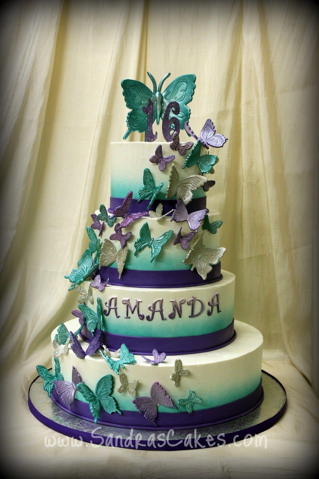 Sandras Cakes sweet sixteen quinceaera Wedding cakes all