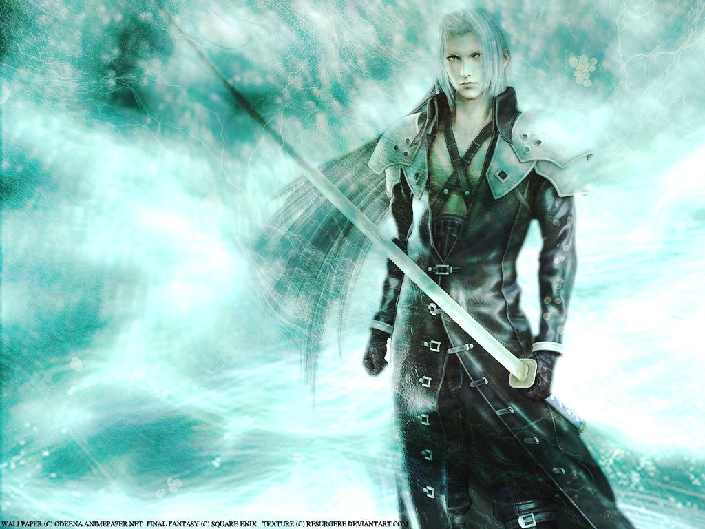 rowan????? final fantasy vii: advent children, sephiroth wallpaper
