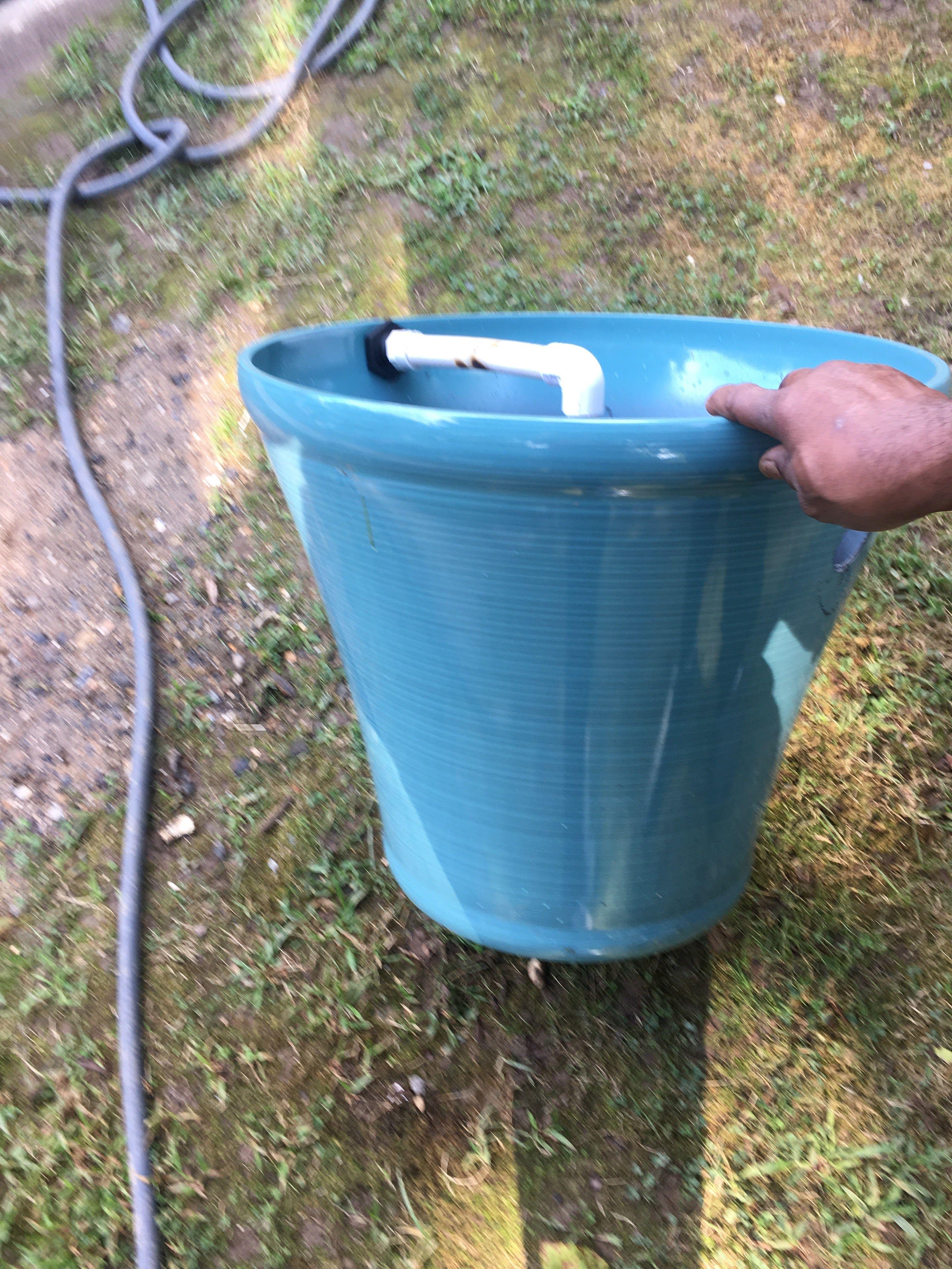 Diy bio filter ponds backyard diy backyard backyard