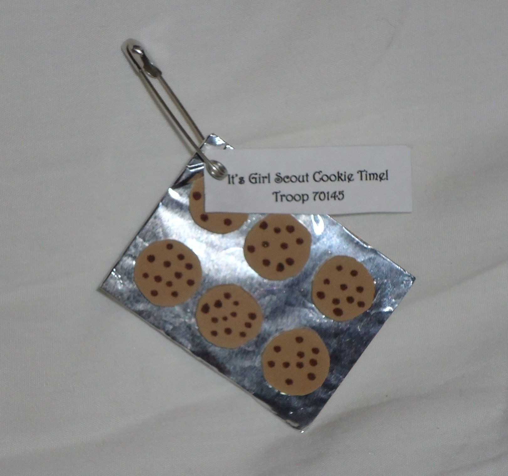 girl scout cookie craft ideas cookie pan scouts crafts amp swaps 6633
