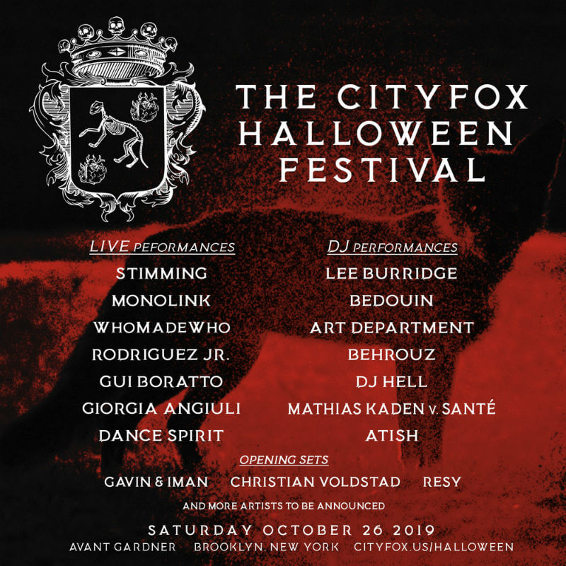 The Cityfox Halloween Festival 2019