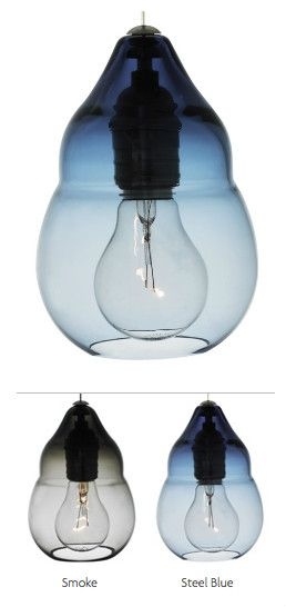 Capsian by Tech Lighting -Delicate Moroccan inspired silhouette of Italian hand-blown, transparent glass surrounds a unique low-voltage Edison style lamp.
