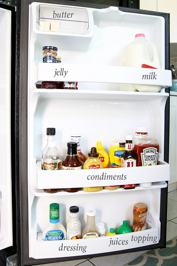 How To Organize A Small Refrigerator Small Refrigerator Organization Refrigerator Organization Small Refrigerator