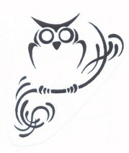 Tribal Celtic Tattoo Dizajn Tatuirovki Sovy Dizajn Tatuirovok Chuchelo Sovy