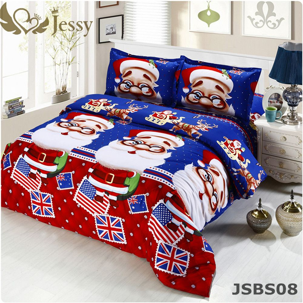 3D Bedding Sets Queen Size Christmas Gift for Kids Merry Christmas ...