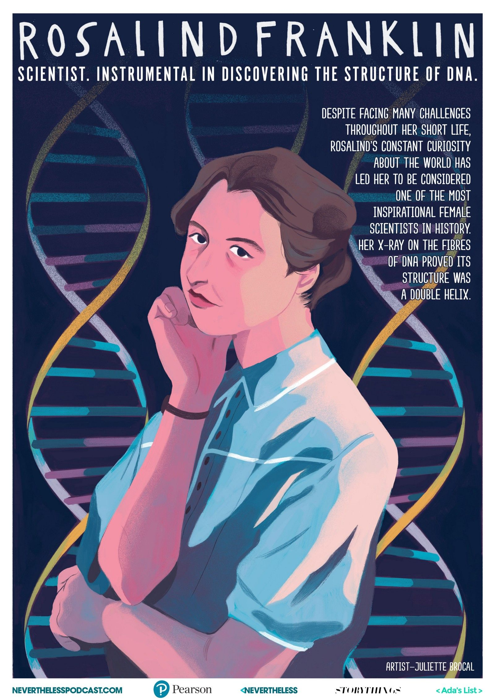 Photo of Downloadable STEM Role Models Posters Celebrate Women Innovators As Illustrated By Women Artists